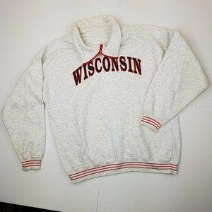 Vintage 90's Wisconsin Badgers Sweatshirt NCAA